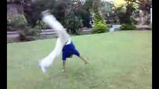 christian in cartwheels