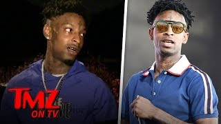 21 Savage's Visa Application May Have Triggered Arrest | TMZ TV