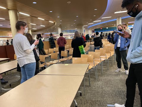 Many students have expressed their frustration with the often hour-long wait times at Ohio University dining halls caused by COVID-19 policies during the first week of the Spring semester.  Read the full story here: https://www.thepostathens.com/2512c906-94c5-47d8-9b5e-ab77dc4eafd8 Video by: Ethan Sands Editing by: Ethan Sands Visit our website: https://www.thepostathens.com/  Find us on social media: Instagram: https://www.instagram.com/thepostathens/ Twitter: https://twitter.com/ThePost Facebook: https://www.facebook.com/ThePostAthens