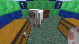 Minecraft Tutorial - Come rendere le pecore multicolore !