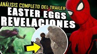¡LO QUE NO VISTE! Spider-Man Far From Home Trailer ¿Antes o después de Avengers 4?   Análisis