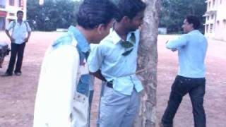 Sivakumar of S8 CS being tied up onto a rubber tree by mexXians