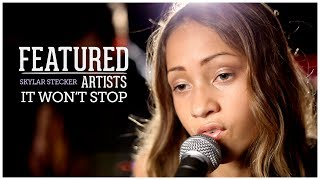 Sevyn Streeter - It Won't Stop ft. Chris Brown (Acoustic Cover by Skylar Stecker | Featured Artists)