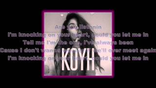 Maggie Lindemann - Knocking on Your Heart (Lyrics)