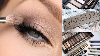 URBAN DECAY NAKED 2 EYESHADOW PALETTE TUTORIAL