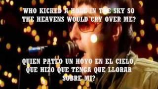 oasis - let there be love  ( SUBTITULADO english y español )