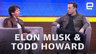 Elon Musk and Bethesda's Todd Howard at E3 2019 in 12 minutes
