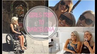 GIRLS TRIP TO BARCELONA | Jordan Bone