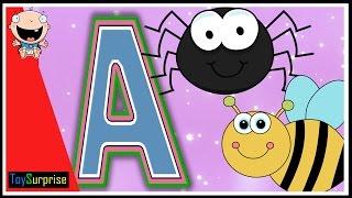 Aprendiendo las vocales para niños en español. Vocales para niños. Animales con las vocales.