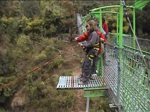 Dustin Kerschtien-250 Meter Canyon Swing in Nepal-The Last Resort