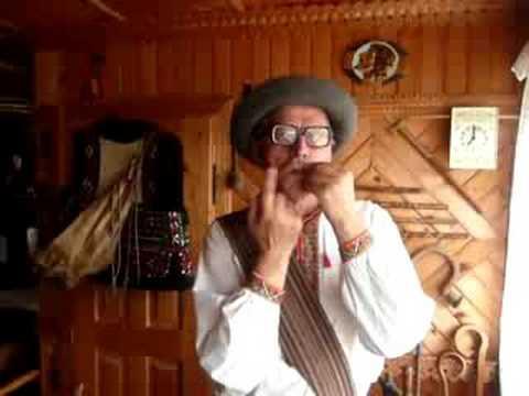 Roman Kumlyk From Ukraine Plays Drymba (Jaw Harp)