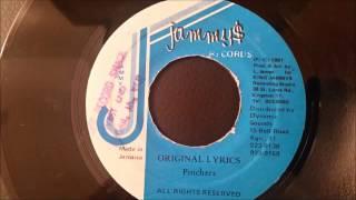 "Pinchers - Original Lyrics - Jammy's 7"""