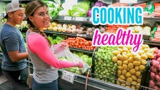 Cooking Healthy with Me! | Grocery Shopping!