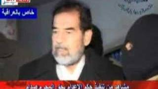 Video of Saddam Hussein's hanging execution