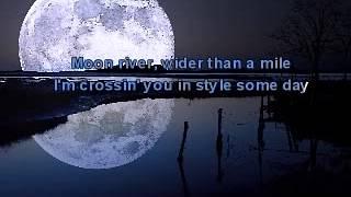 Karaoke - Henry Mancini - Moon River (by 212).avi