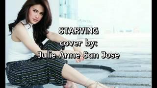 Starving - Julie Anne San Jose (cover) Lyric Video