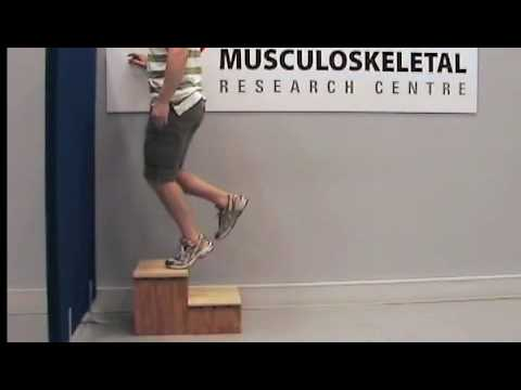 Exercises for Achilles tendinopathy (2 - knee bent)