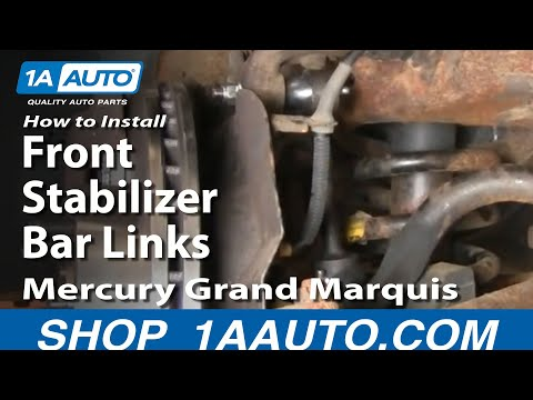 How to Replace Sway Bar Link 98-02 Mercury Grand Marquis