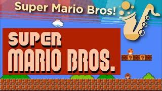Super Mario Brothers Main Theme - Saxophone Quartet Game Cover