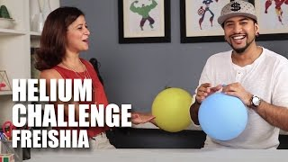 Helium Challenge | Freishia | Mad Stuff With Rob