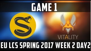 Rengar Shen Combo - VIT vs SPY Game 1 Highlights EU LCS Spring 2017 W2D2 - League of Legends