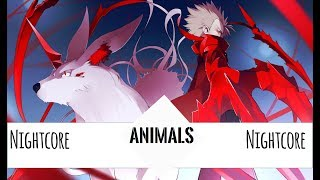 ►Nightcore → Animals