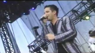 The Killers - Somebody Told Me live at Lollapalooza 2005.