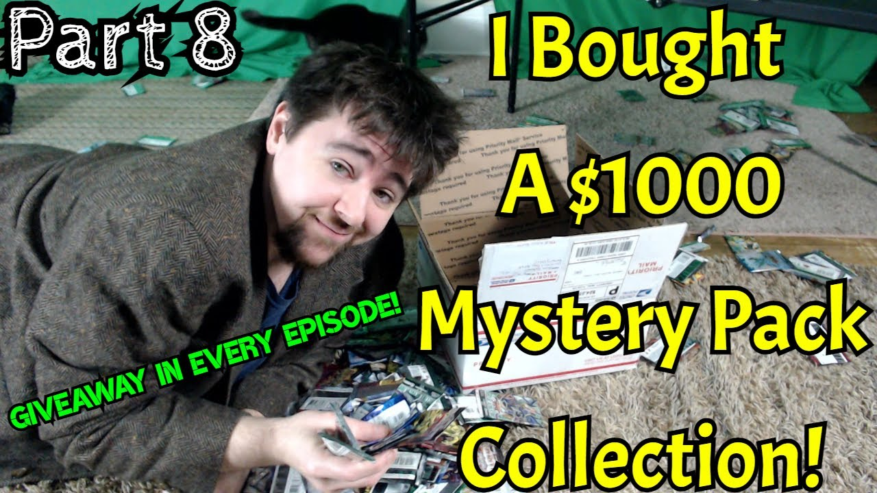 GGVision - I BOUGHT A *$1000* Yu-Gi-Oh! MYSTERY PACK COLLECTION! - Part 8/8 - Finishing It Off STRONG!