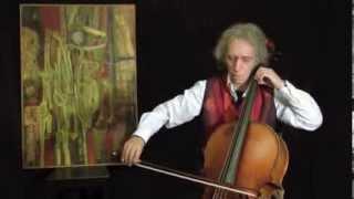 Erik Satie - Gymnopedie I for CELLO solo / Georg Mertens