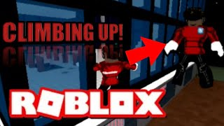 CLIMBING UP THE BLOXWATCH HQ TOWER BUT WITH HAPPY MUSIC IN ROBLOX! | Fan Shirt Announcement (Roblox)