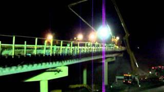 HOCKING VALLEY CONCRETE  Nelsonville 33 Bypass Bridge Deck Pour 3.MOV