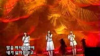 Kiss - Because I'm a Girl Live (Korean song)