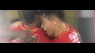 Jackson Martinez Goal Guangzhou Evergrande 2 - 0 Guangzhou RF