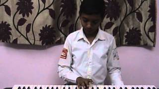 KUMBALA MANISH PLAYING  JAMU RATHIRI JABILAMMA  SONG ON KEY BOARD