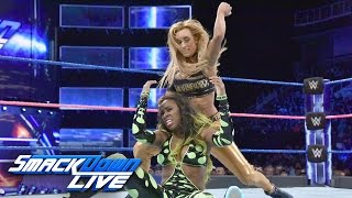 Naomi vs. Carmella: SmackDown LIVE, Oct. 11, 2016