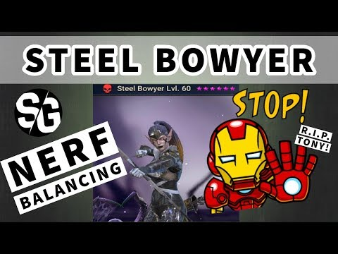 [RAID SHADOW LEGENDS] NERF / BALANCING - STEEL BOWYER - STOP LEVELING HER FOR NOW
