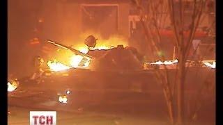 Екіпаж спаленого БТР на Майдані врятувався лише дивом
