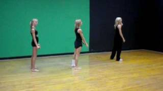 Me,Evan,Kenzie Anderson,  dance combo to Caroline's a Victim
