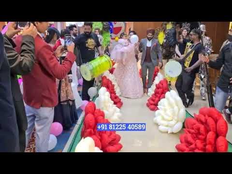 Flower Chain Bride Groom Entry Wedding or Birthday Chennai | Pondicherry | Bangalore +91 81225 40589