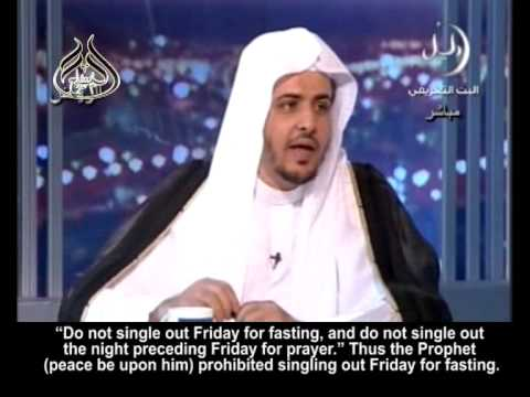 Singling out Friday for fasting