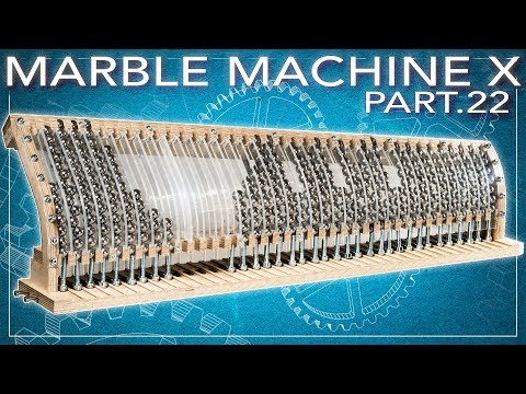 Martin Molin Forts 228 Tter Bygga Marble Machine X En N 228 Rmare