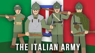 WWI Factions: The Italian Army