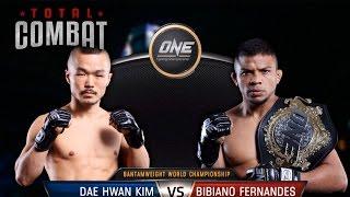 Total Combat | Dae Hwan Kim vs Bibiano Fernandes | Full Fight Replay