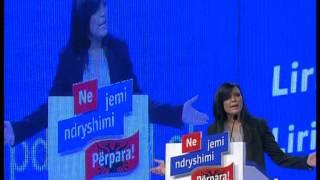 Greta Koci- Konventa e Partise Demokratike per Rinine