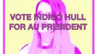 Indigo Hull for AU Pres