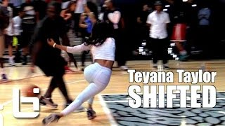 Teyana Taylor Gets CROSSED Up BAD But Still Looks Good!