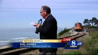 La Selva Beach train trestle construction completed