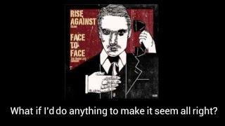 Rise Against- Blind (Lyrics)
