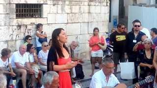 Fado em Alfama com Teresa Tapadas (17.08.2013) Take 1