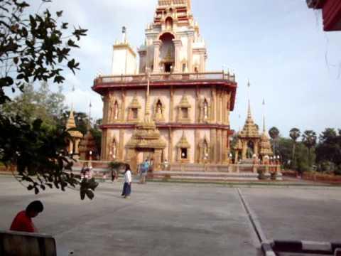 Buddhist Waat Chalong Phuket 29 Dec 2011  by Manoj Rana & Buddhi Gauchan  Lumbini Nepal now Thailand